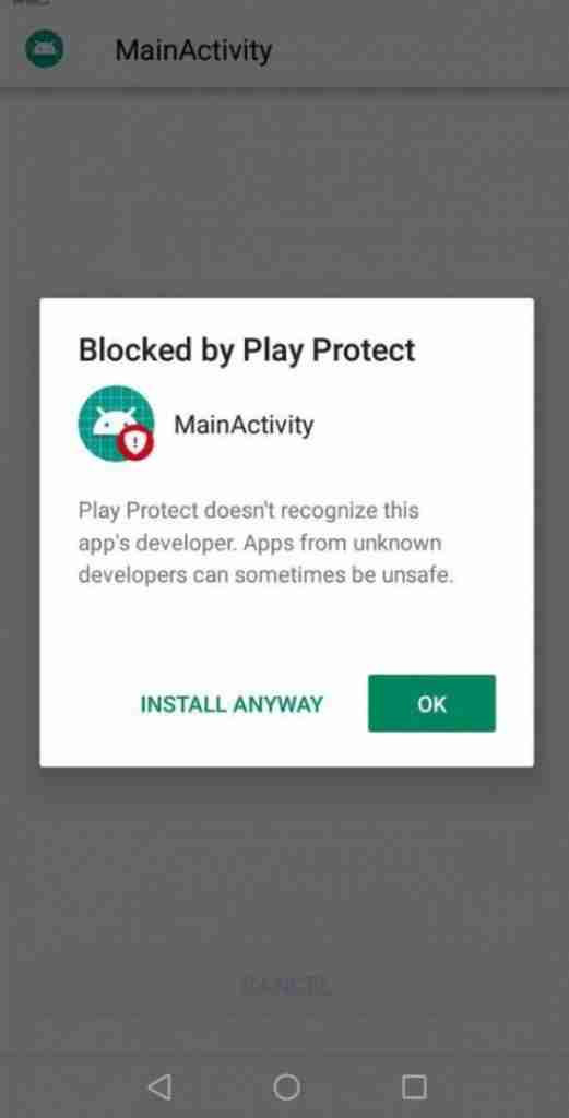 bypass google play protect with apk bleach