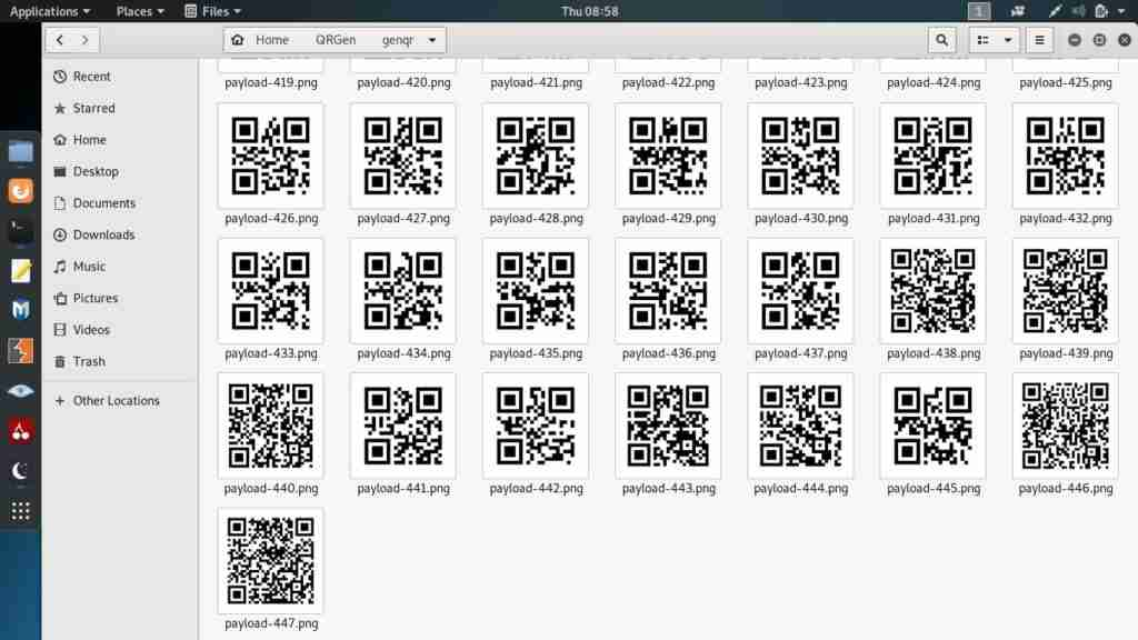 hack using qr codes