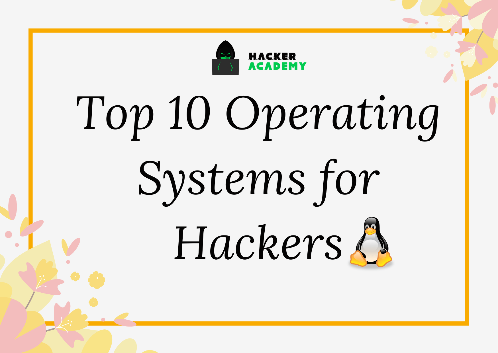 top 10 operating systems for hackers